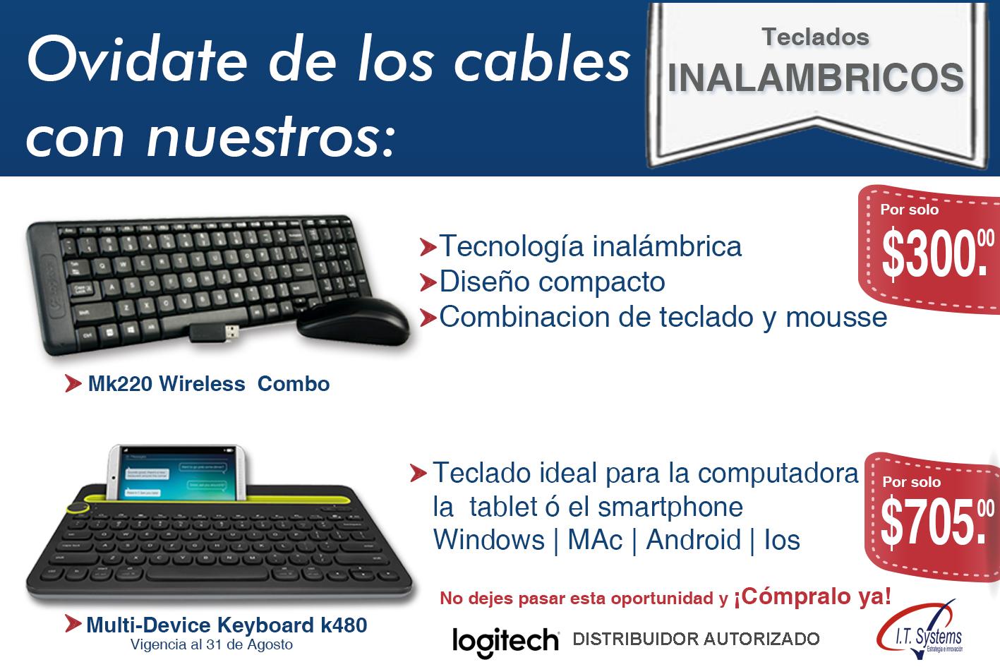 teclados inalambricos